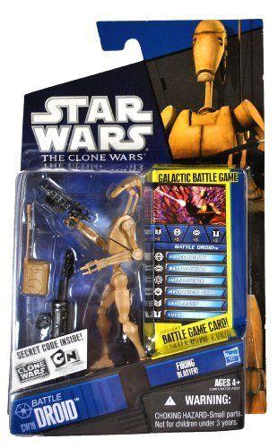 Star Wars Battle Droid 2 Pack Saga Legends Galactic Battle Game Hasbro