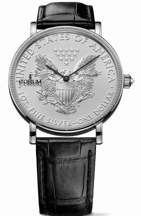 Corum Heritage Coin 50th Anniversary Edition American Silver Eagle Ref. C082/02495
