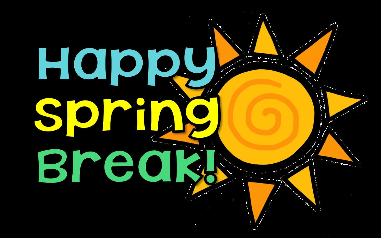 34++ Happy spring break clipart ideas