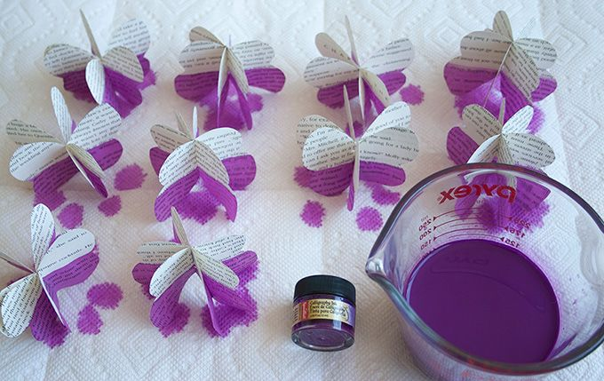Photo of DIY: Dip-Dyed Paper Butterfly Garland | adventures-in-mak…