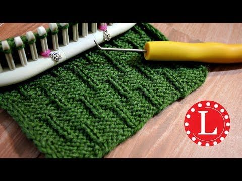 Loom Knitting Stitch Patterns The Caterpillar On Any Loom Round Or