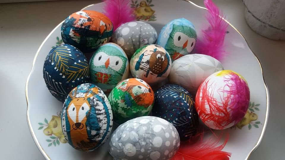 Salvrätikud ja liimiks munavalge