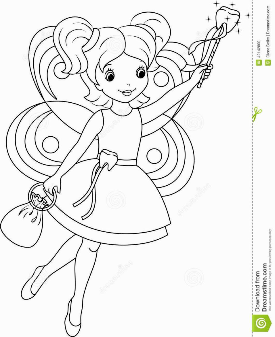 Tooth Fairy Coloring Pages Fairy Coloring Fairy Coloring Pages