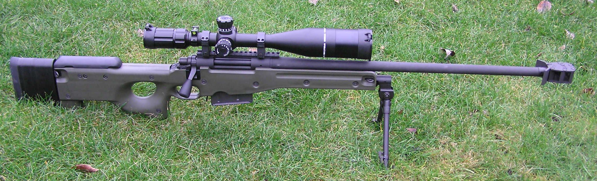 It started life as a Remington 700 PSS in  300 win mag, and