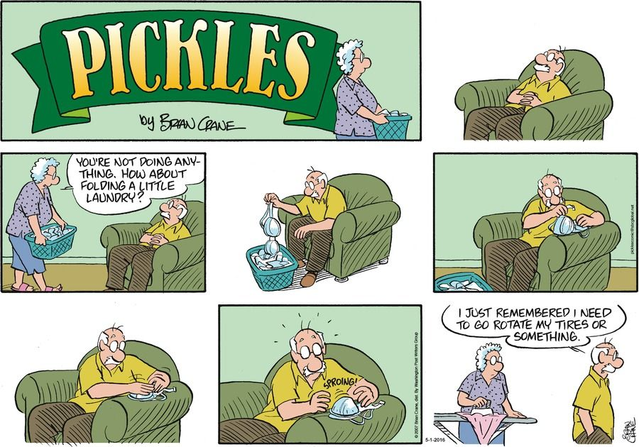 Pickles strip for May 1, 2016