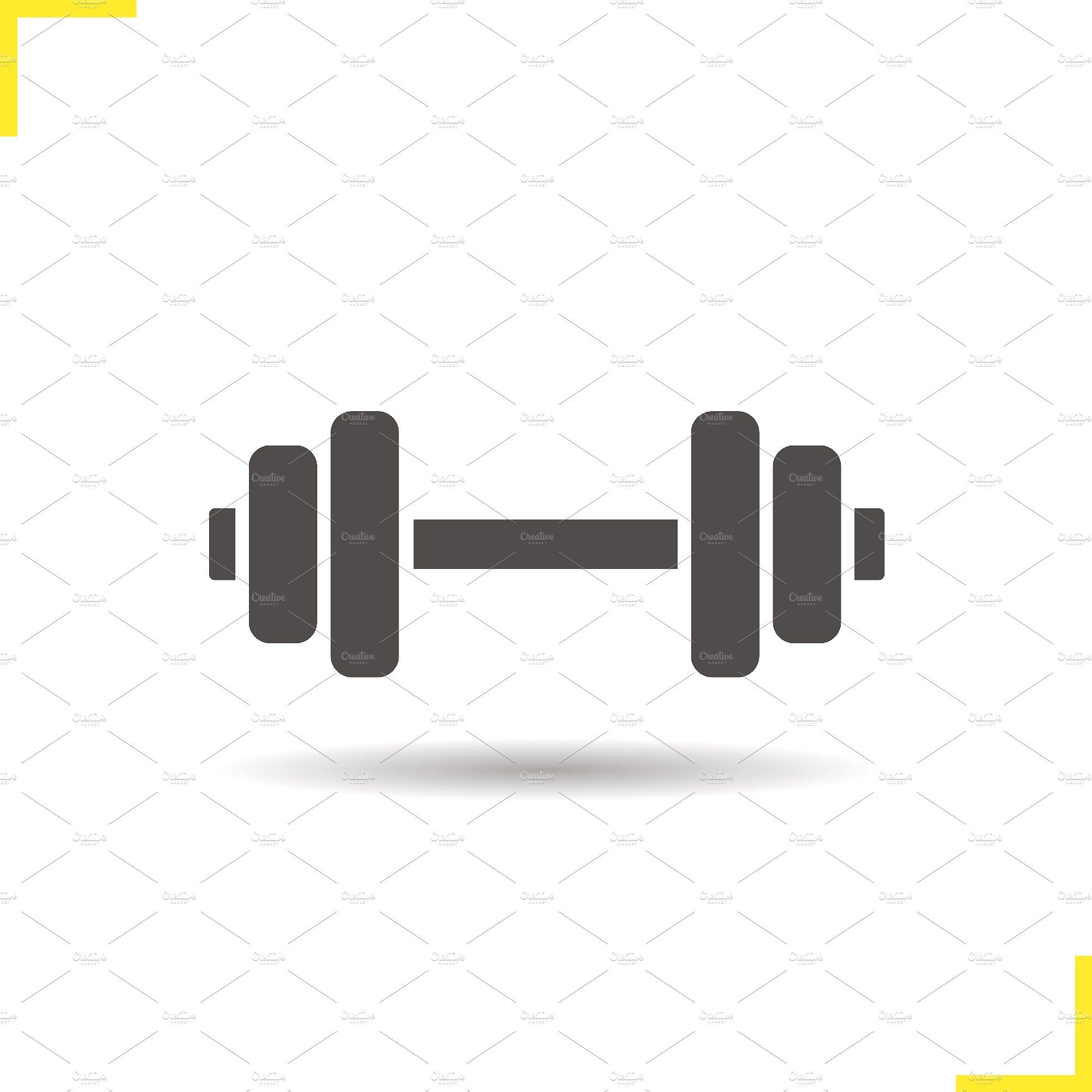 Dumbbell icon. Vector Icon, Dumbbell, Fitness icon
