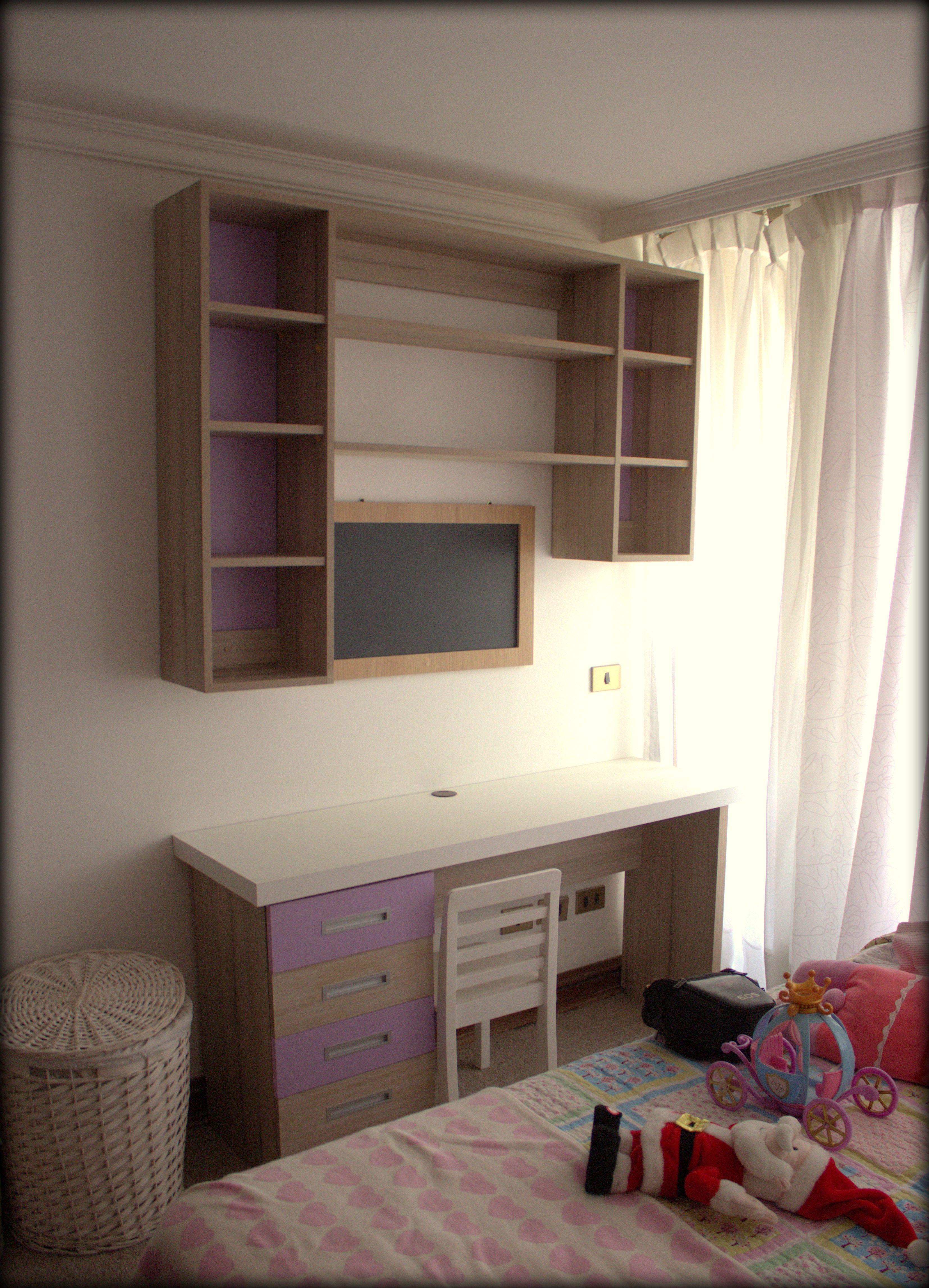 escritorio en dormitorio para particular