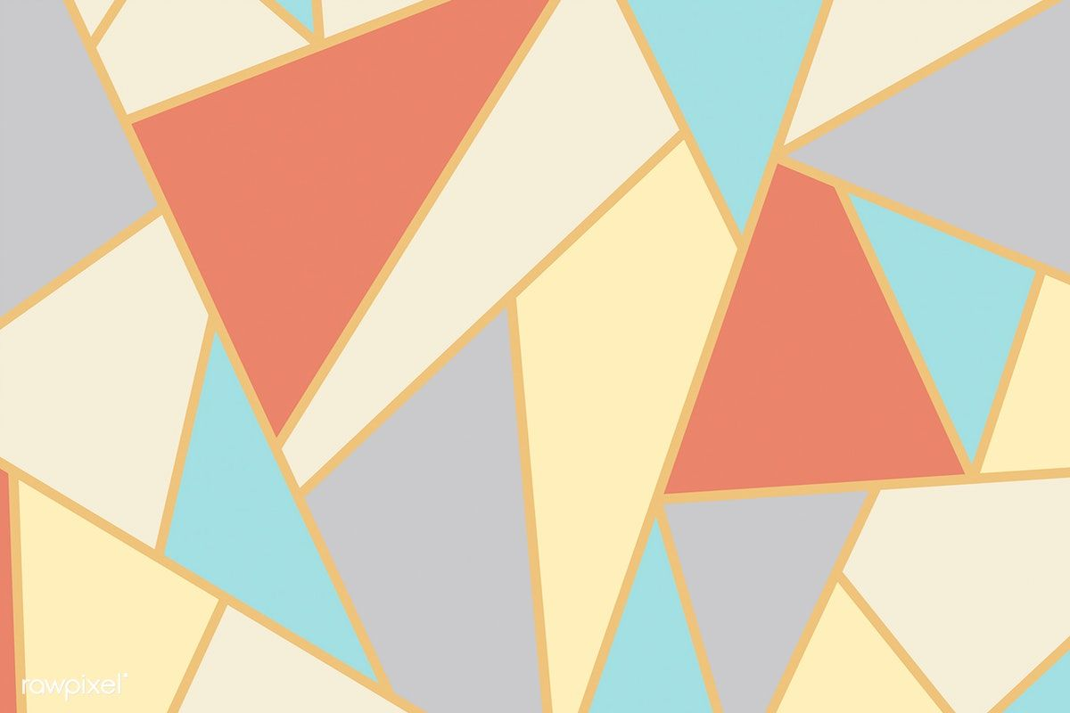 Abstract Geometric Mosaic Background Vector Free Image By Rawpixel Com Mosaic Vector Background Pattern Geometric Background