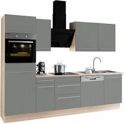 Photo of Optifit Küchenzeile Bern mit E-Geräten Breite 270 cm Optifit