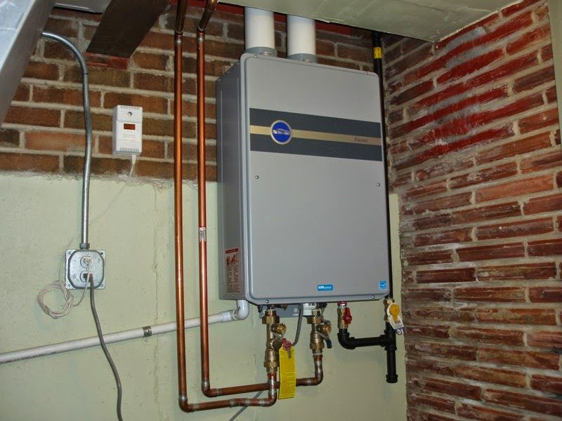 How to Install a Tankless Hot Water Heater Tankless hot