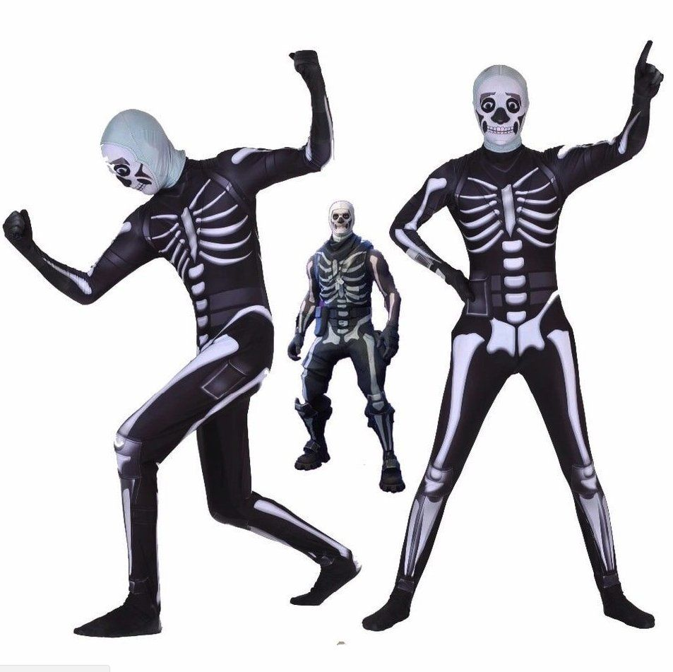 Halloween Fortnite Skull Trooper Costume Halloween Costume Ideas