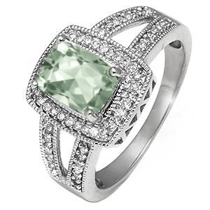 Personalize Your Diamond and Color Stone Ring