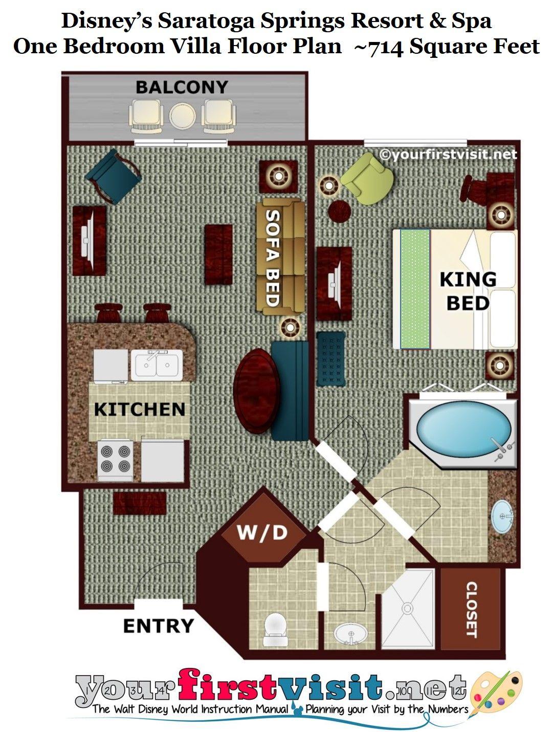 Review Disney's Saratoga Springs Resort & Spa Saratoga