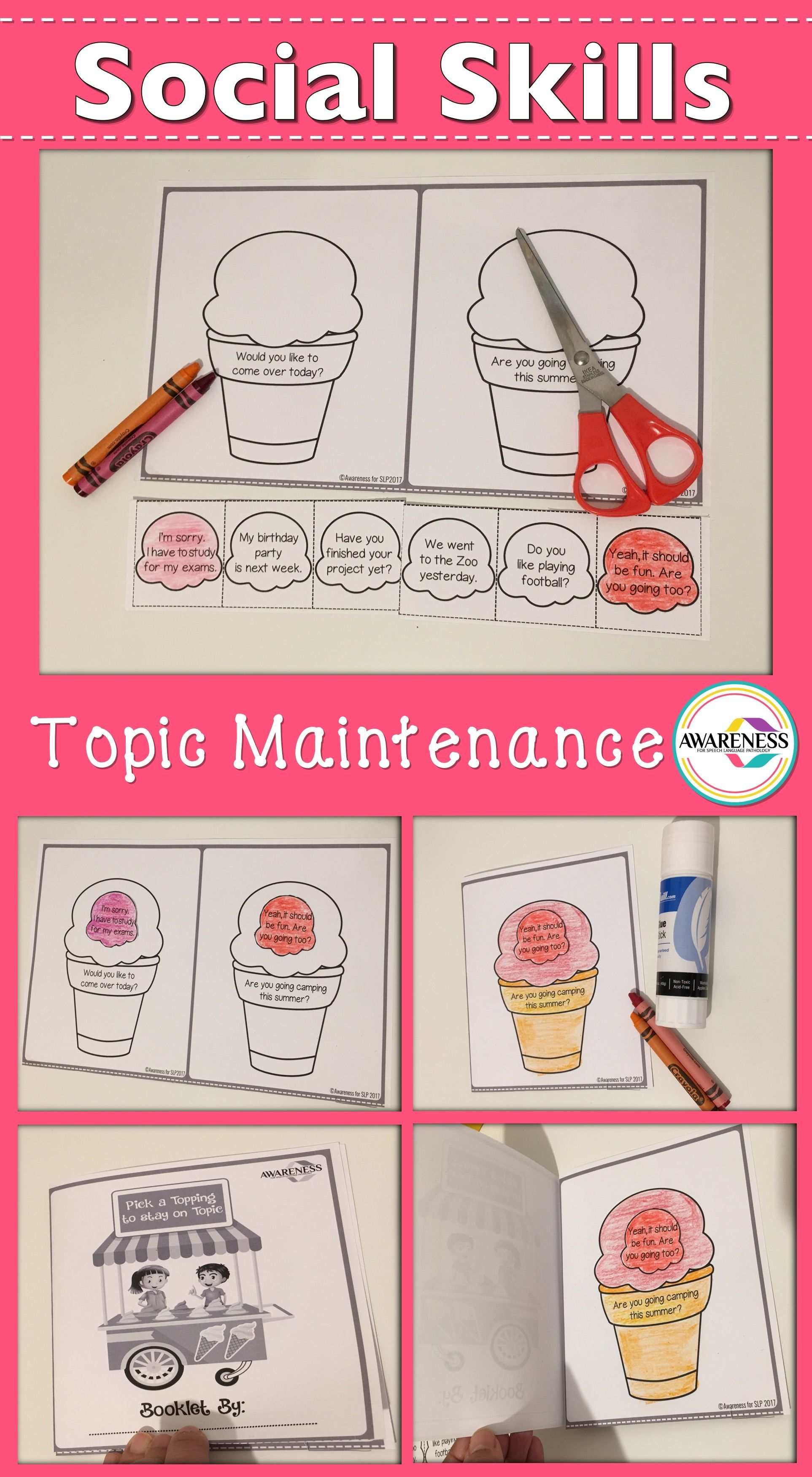 Topic Maintenance Speech Therapy Amp Autism