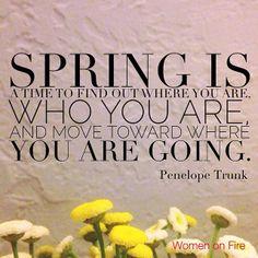 Inspirational springtime quotes 23 Spring