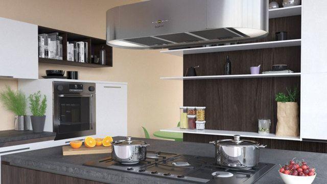 Per Dunstabzugshaube zur Designer-Küche Küchengeräte - Die - moderne dunstabzugshauben k che