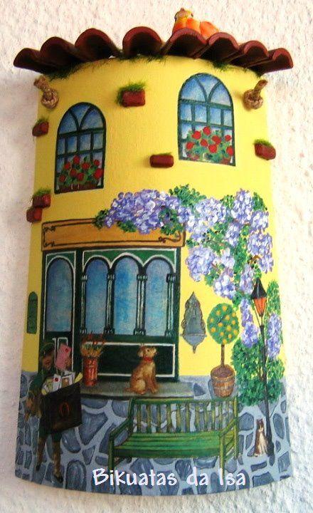 Sandylandya telha cl ssica tejas decoradas pinterest for Casa classica tile