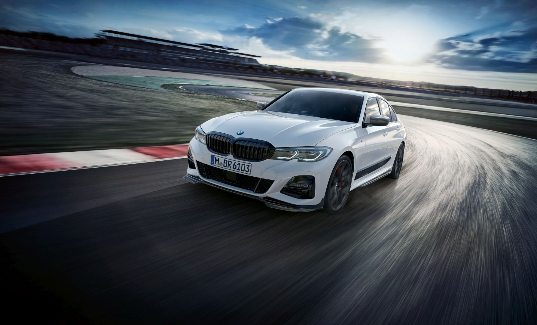 Bmw M Performance Parts Catalogue For New 3 Series Already