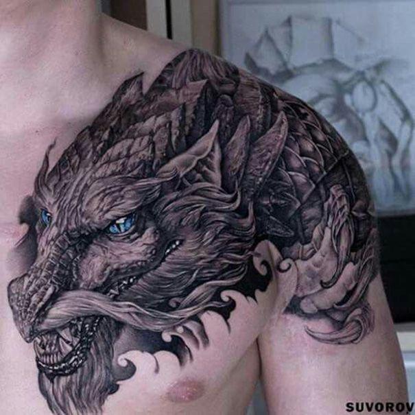 Neutattodesigns Com Celtic Dragon Tattoos