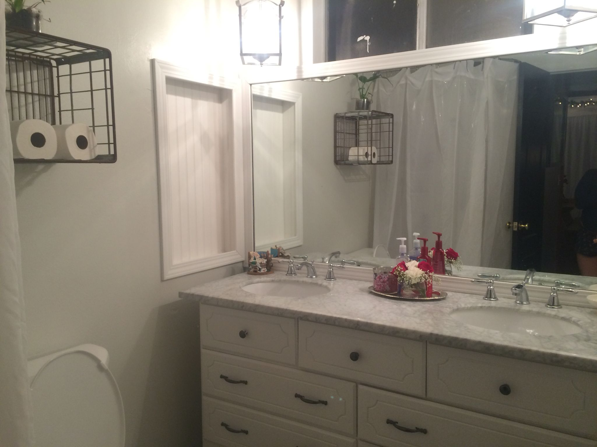 Fixer Upper Bathroom Style Diy Bathroom Vanity From Dresser Crate For  Storage Beadboard Gray And White