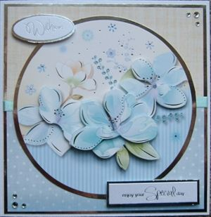 Hunkydory Free Gift Birthday Card by: gailie