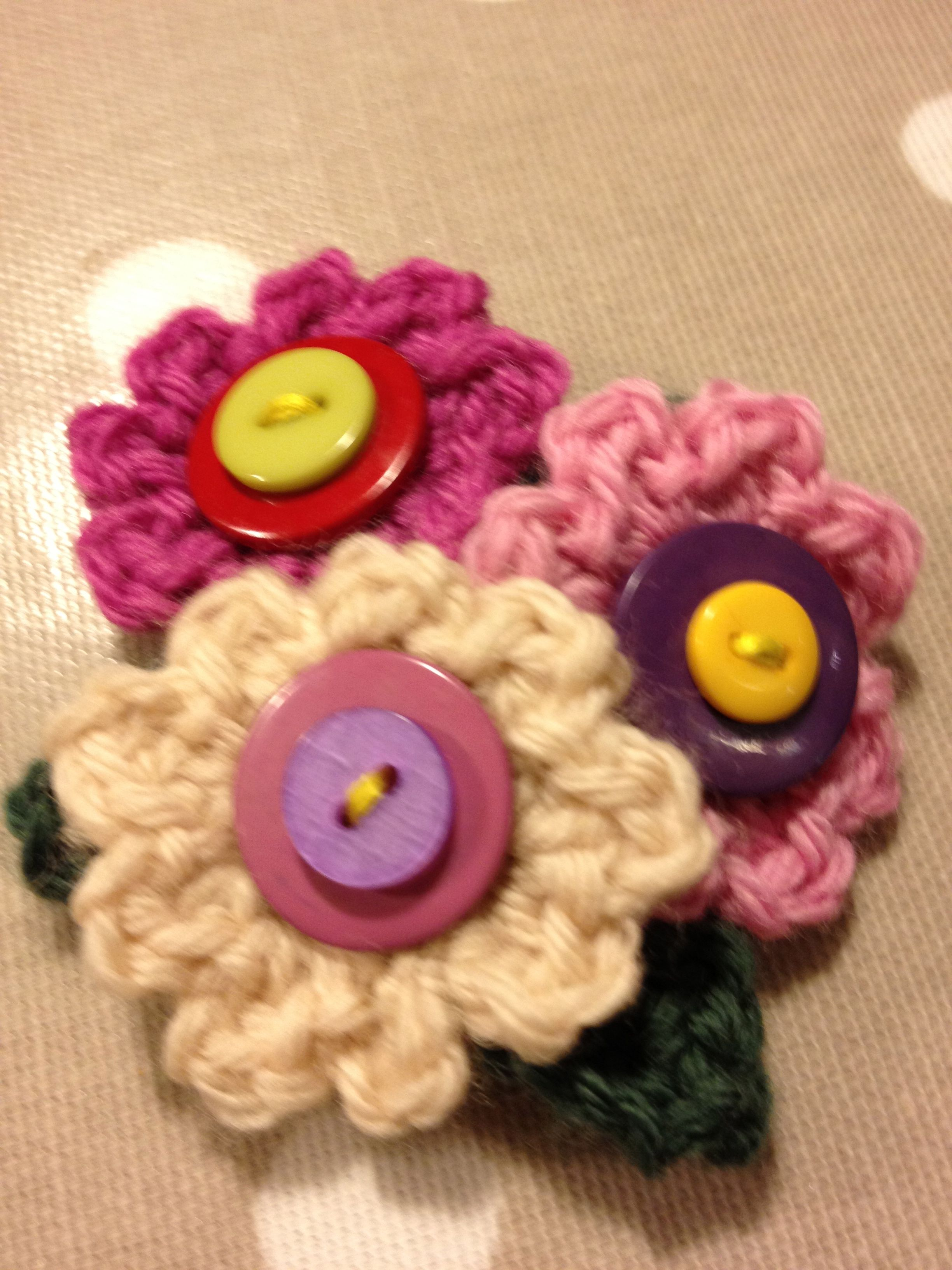 pinterest brooch my work pin brooches crochet crocheted