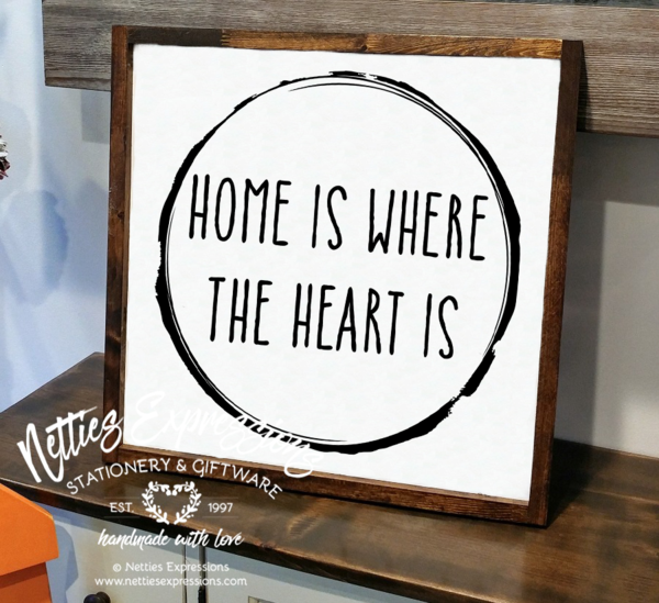 Home Is Where The Heart Is Rustic Wood Sign Rustic Wood Signs Wood Signs Rustic Frames,Best Wireless Charging Station For Apple Watch And Iphone