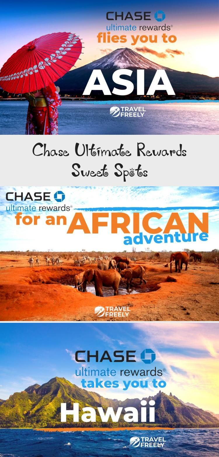 Chase Ultimate Rewards Sweet Spots Hawaii travel