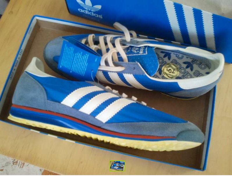 Vintage 1970s Adidas shoes ... the kind Starsky wore on Starsky & Hutch lol