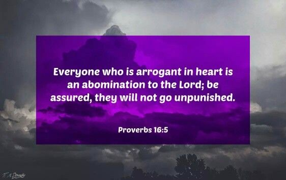 Image result for proverbs 16:5