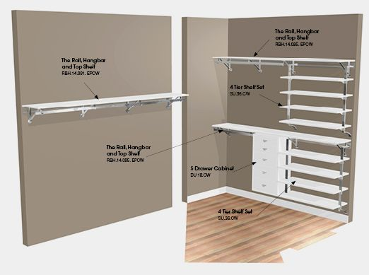 Interior Design Diy Walk In Closets Do It Yourself Closets Closet ...