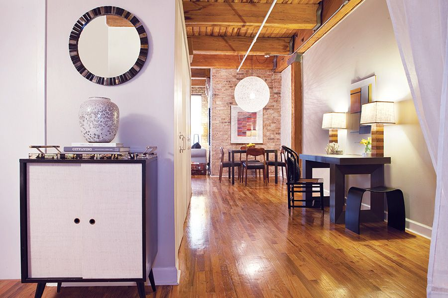 This 1-bedroom loft apartment in River North features exposed ...