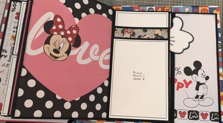 Blog – Paper Phenomenon  Love the Mickey Hand as a tab