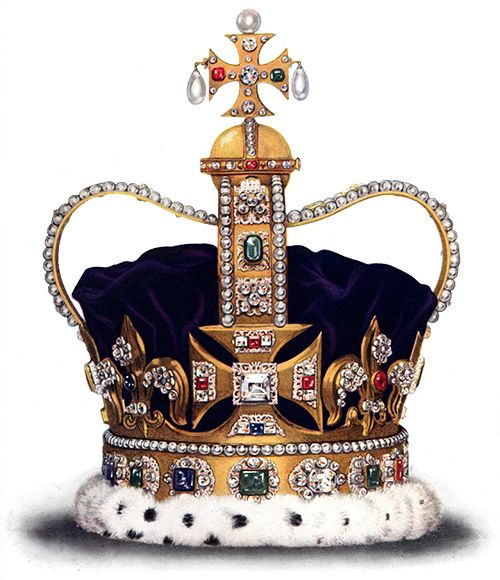 cdc6b96f673a Corona di sant Edoardo - Crown (headgear) - Wikipedia