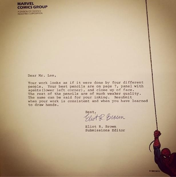 Rejection Letters To Superstars Early In Their Careers Give Us All