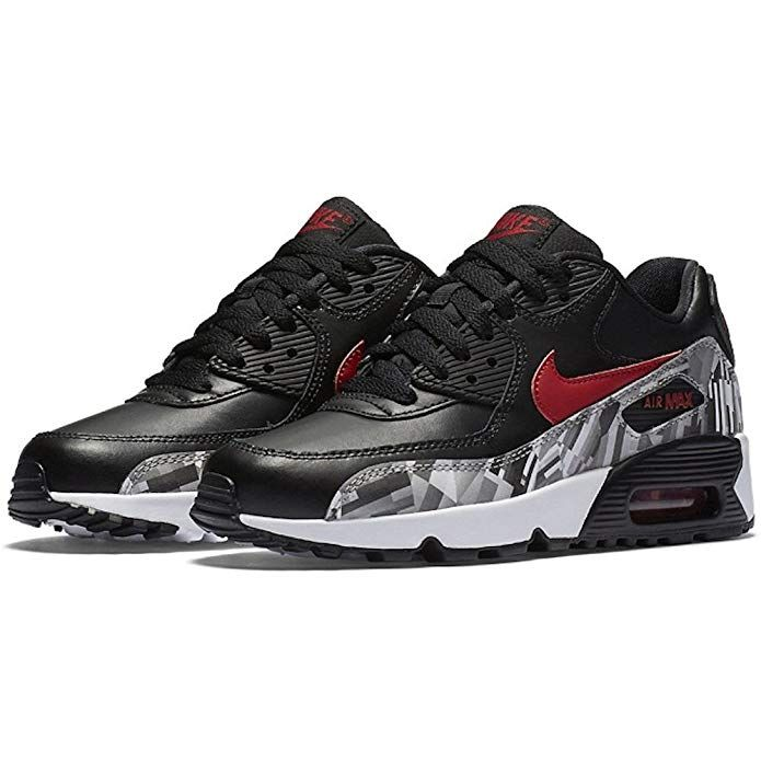 finest selection 943e4 a18db NIKE Air Max 90 LTR GS Running Shoe (5 M US Big Kid) Review