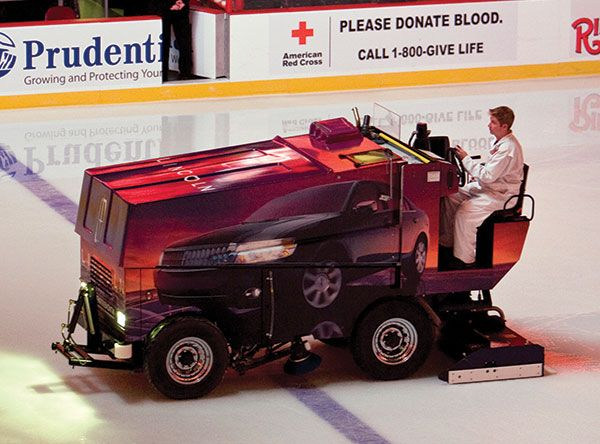 Driving A Zamboni ice resurfacing machine across Canada ...
