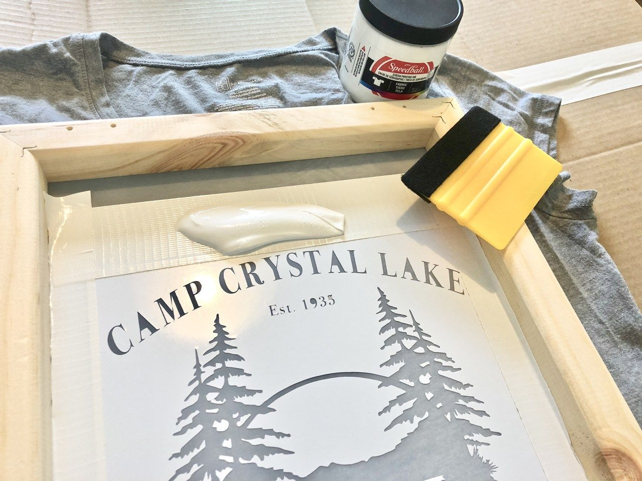 Screen Printing With Your Cricut Or Silhouette An Easy
