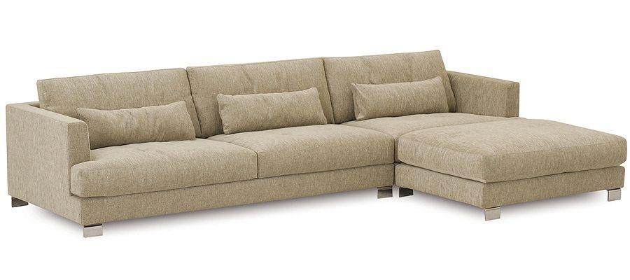 Merignac un grand canap d angle incroyablement profond et confortable moderne et pourtant - Canape tres confortable ...