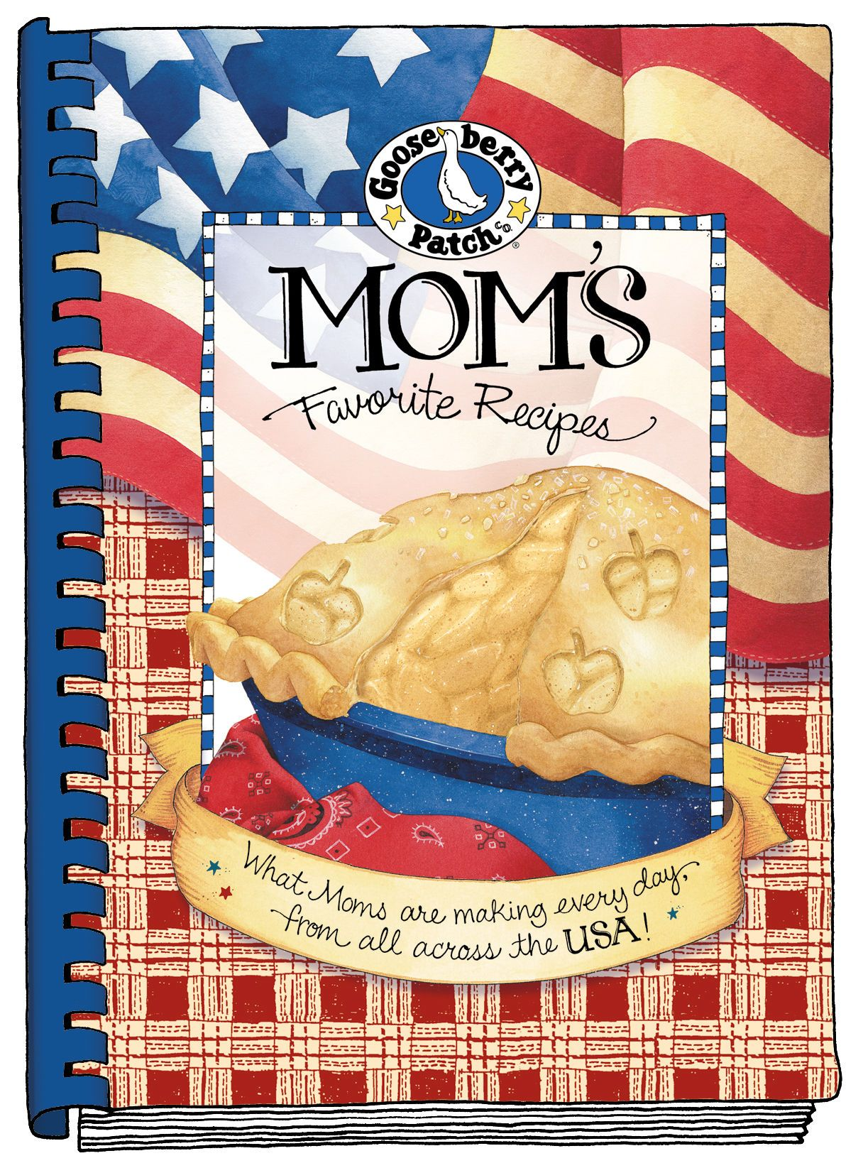 Mom's Favorite Recipes Cookbook is filled with the best recipes Moms are making every day from all across the USA! Also now available as a convenient eBook!