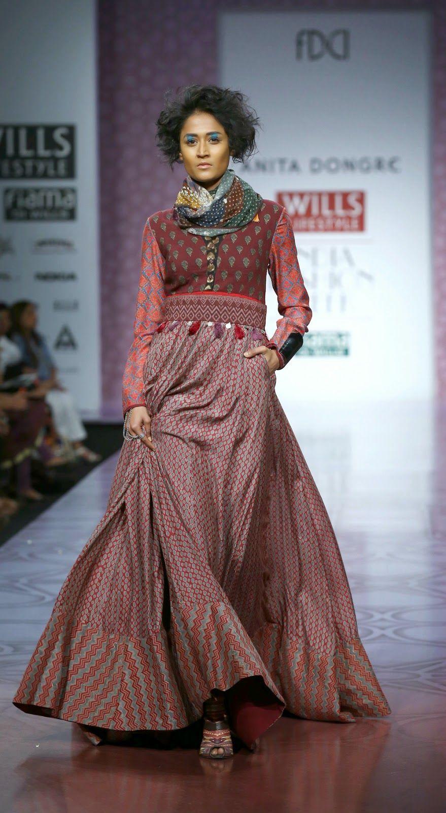 Fashion Anita Dongre Show At Wills Lifestyle India Fashion Week 2014 Wedding Dresses