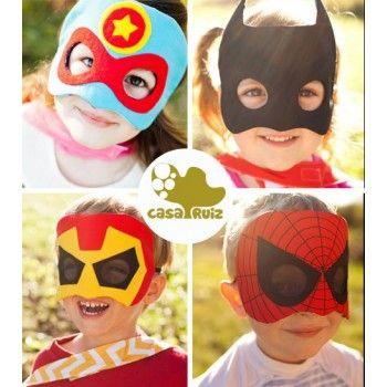 Mascaras para Disfraces de Superhéroes