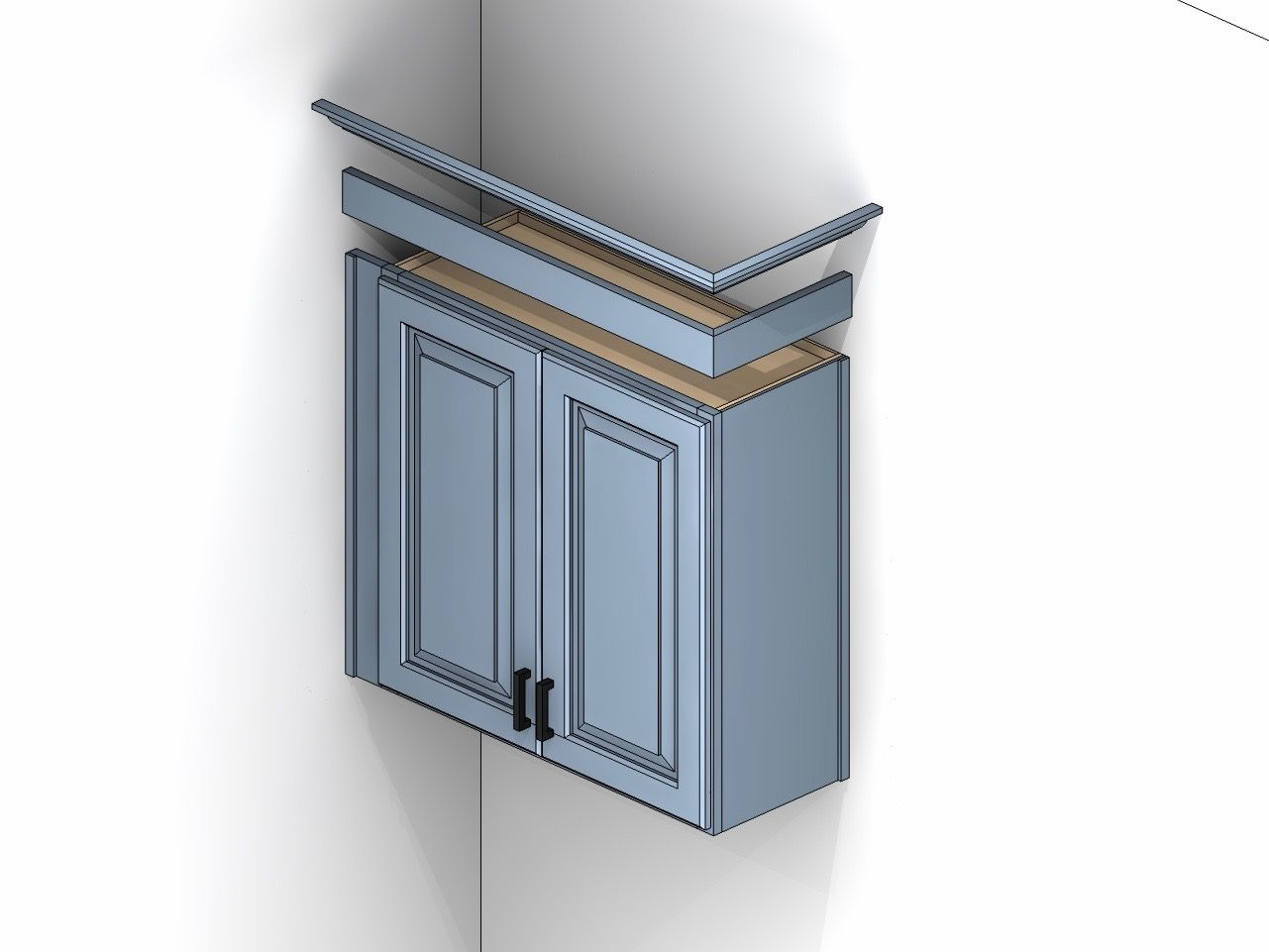 Cabinet Illustration Showing Starter Riser Molding Kitchen Cabinet Molding Cabinet Trim Cabinet Molding