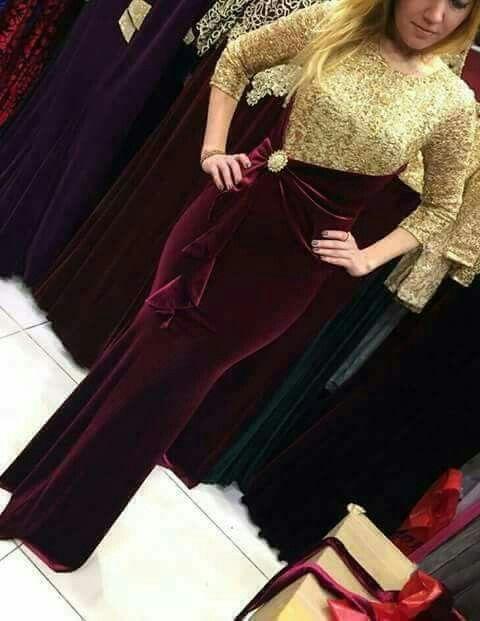 Robe de soiree katifa moderne