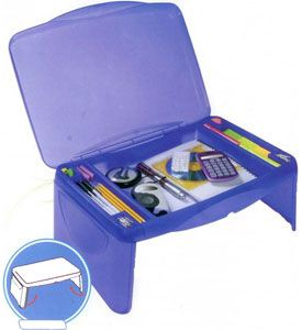 This Kid S Storage Lap Desk Is An Excellent Lap Desk For Use At Home Or On The Go Constructed From Heavy Duty High Impact Plastic This Storage Lap Desk Tray Fe
