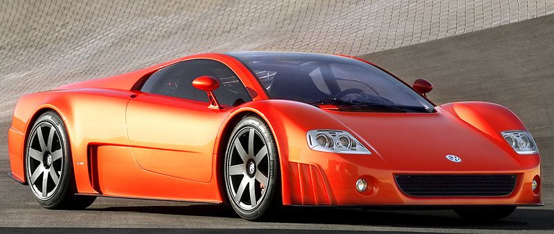 2001 Volkswagen W12 Coupe Concept 600,000 Concept cars