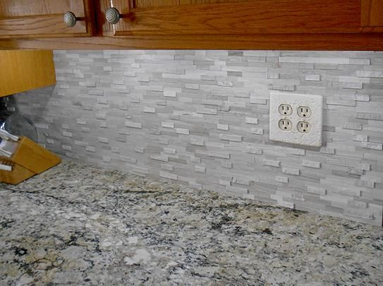 Inoxia Sdtiles Himalayan 11 75 In X 6 Stone Adhesive Wall Tile Backsplash White Is314 2 At The Home Depot Mobile