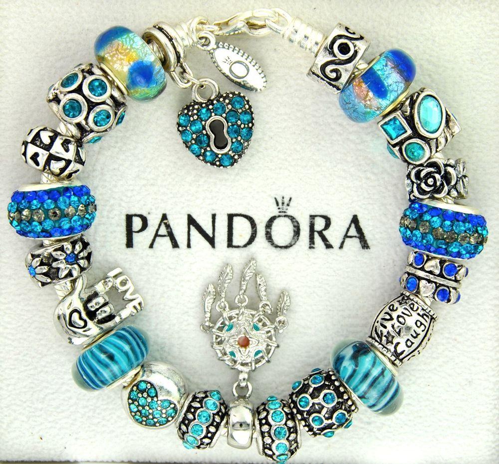 Brighton charm bracelets sterling silver