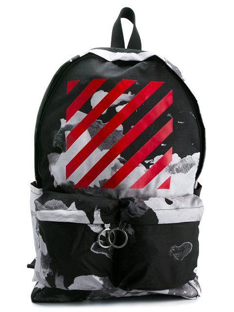 74b6cf3d94ae Купить Off-White рюкзак с абстрактным принтом в Deliberti from the world's  best independent boutiques at farfetch.com. 400 бутиков, 1 адрес.