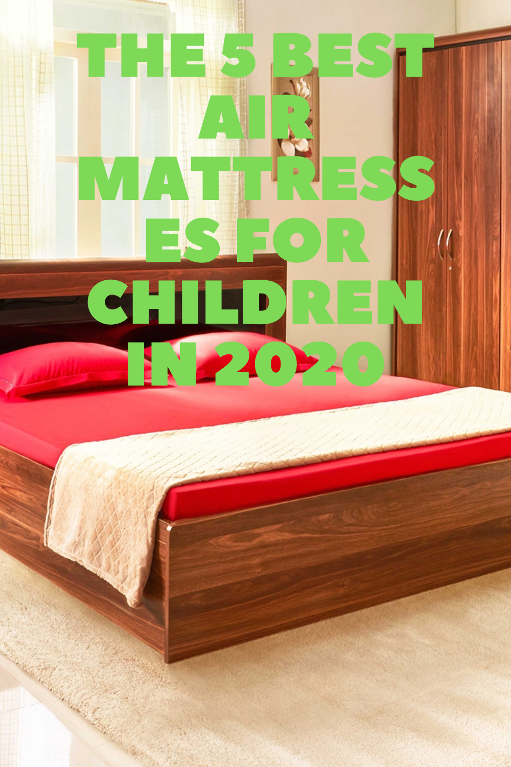 Let's face it – air mattresses are fun for children. They are practical and able to convert from a comfortable to a movable bed.#interiordesigner #love #interiordecor #homestyle #interiorstyling #livingroom #inspiration #dekorasirumah #diy #luxury #walldecor #instahome #shabbychic